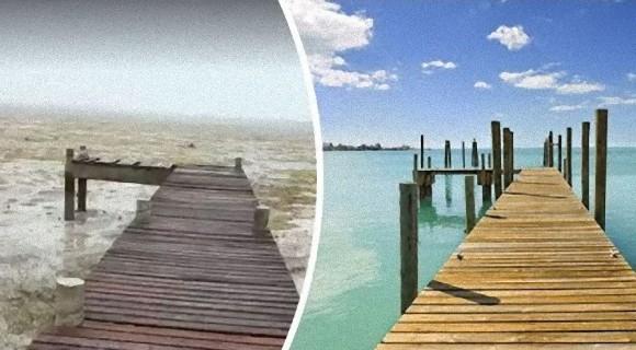 海の水が消えただとぅ!?ハリケーン「イルマ」が引き起こした世にも奇妙な気象現象が確認される