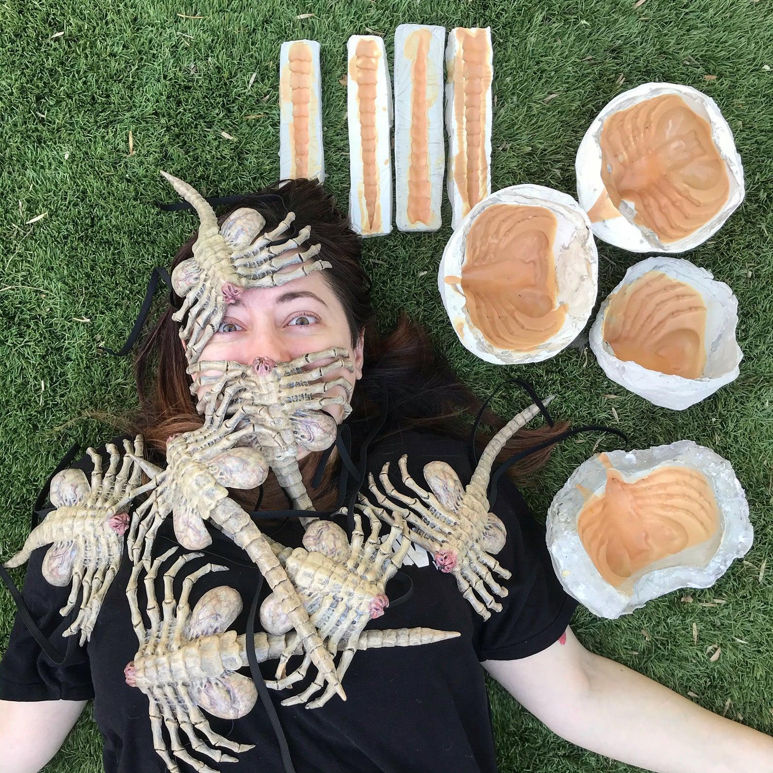 フェイスハガーのマスクカバー