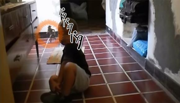 アルゼンチンの民家に住んでいる小さいおじさんの撮影に成功