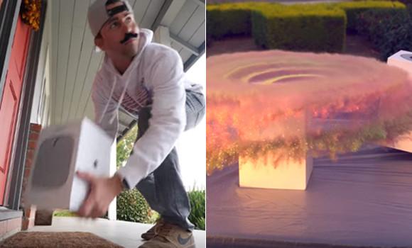 宅配小包を盗まれるのに嫌気がさした元NASAのエンジニア、自作でラメ爆弾を作り泥棒を撃墜!(アメリカ)