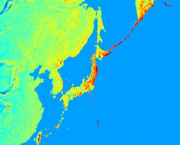 東日本は重力高めだった。地球上の重力を可視化した地図(オーストラリア研究)