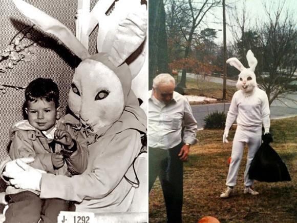 ウサギってそうじゃないだろ!イースターバニーの被り物が怖すぎて悪夢パターン
