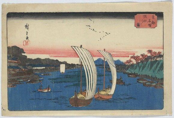 日本の浮世絵の高解像度データが無料でダウンロードできるとかいうサービスが開始される。その数なんど2,500点