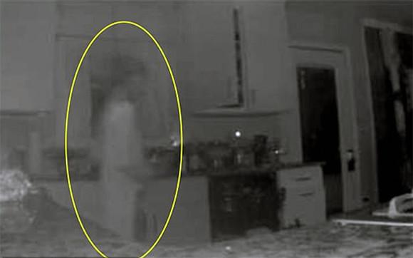 亡くなった息子が帰ってきた!キッチンの監視カメラがとらえた霊を息子と信じる母親(アメリカ)