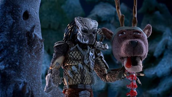 プレデターから血塗られたメリークリスマス!ショートフィルム「The Predator ホリデースペシャル」