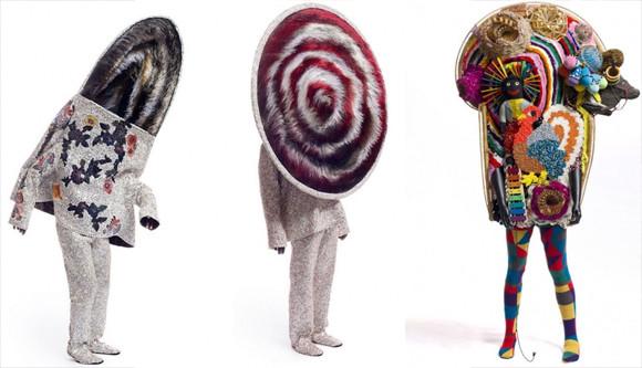 突出してシュールなんだけど、どこかやさしい感じがする。アメリカ人アーティストが作る着ぐるみ「サウンドスーツ」