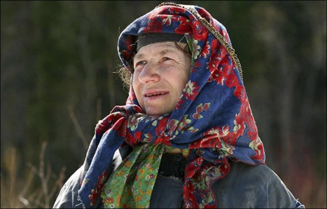 30年以上極寒の地で一人暮らしをしていた女性