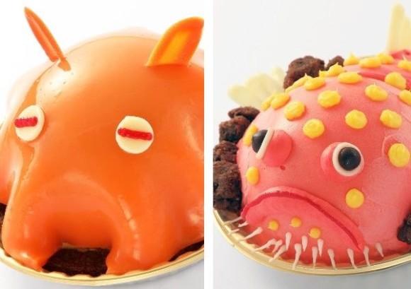 深海生物マニアはマストGO!メンダコやミドリフサアンコウのケーキがサンシャイン水族館でもうすぐ食べられるんだから!