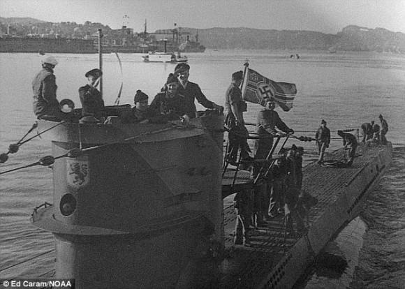 生きたまま沈んだ45名と共に眠るナチスドイツのUボートが74年振りに発見される