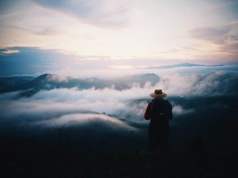 ハイキング中に失踪した男性