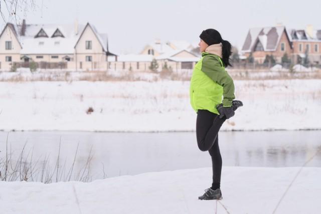寒い中で運動すると脂肪燃焼効率が上がる