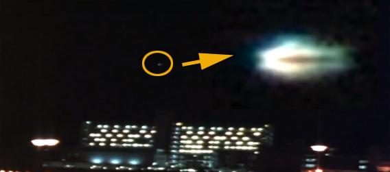 香港の上空に現れたハンバーガー型のUFO、その正体は?