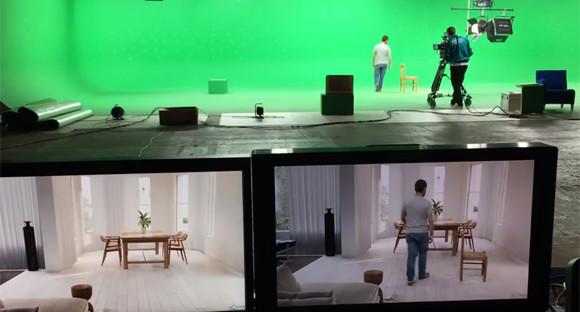 何が現実で何が虚構なのか信じられなくなる、テレビセットの舞台裏