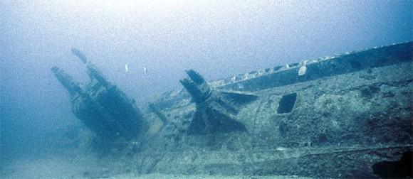 旧日本海軍の大型潜水艦「伊400」が発見される(米オアフ島)※追記:格納塔の撮影した映像が新たに公開