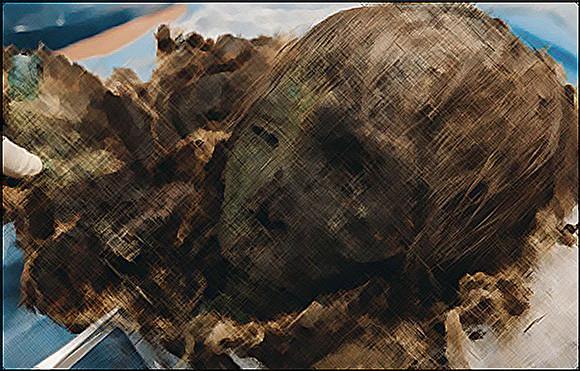 生前は美女。北極圏で発見された900年前のミイラ(ロシア)※ミイラ注意