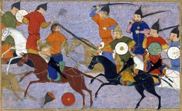 モンゴルと中国の戦い