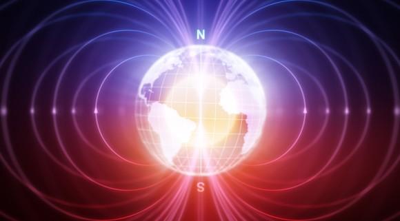 地球の磁場に異変。その原因は不明。