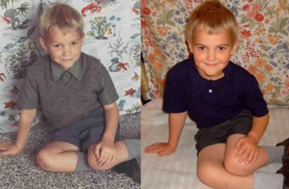 血のつながりって凄い!親が子どもの頃と、その子供たちの写真を比較したらあまりにも似すぎていた