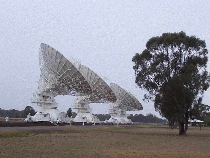 オーストラリアのASKAP電波望遠鏡アレイ