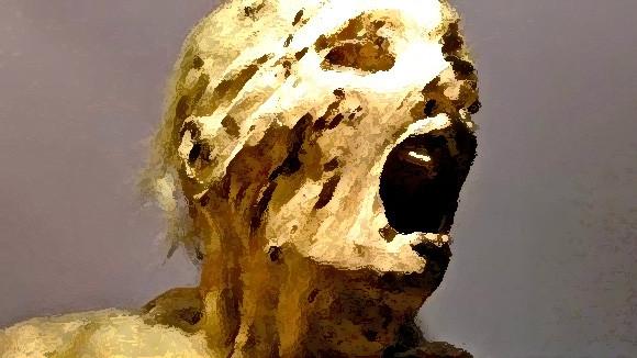 苦痛にあえぐ姿のままミイラに。古代エジプトの「叫ぶミイラ」の謎を解明か?(※ミイラ出演中)