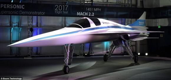 超音速旅行時代の到来。東京・サンフランシスコを4.7時間で結ぶ超音速旅客機が公開される