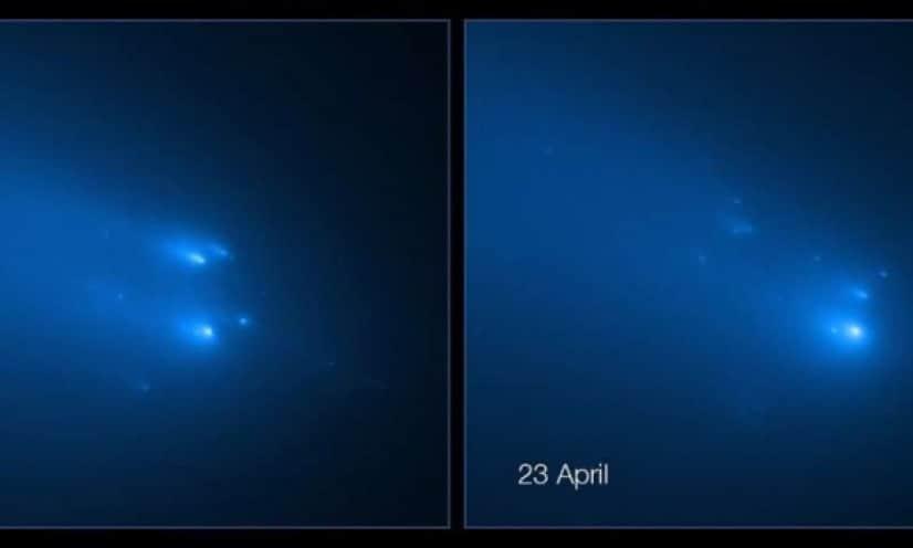 アトラス彗星の崩壊