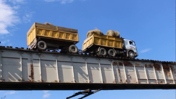 ギャンブル性が高すぎ!世界屈指のスリリングを味わえるロシア、ヴィティム川にかかるカンディンスキー橋