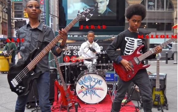 アメリカの中2は凄かった。ソニーと1億7千万円の契約を結んだ少年3人のメタルバンド「Unlocking the Truth(真実の解放)」