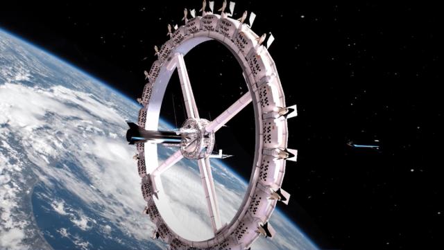 宇宙旅行時代が到来する!宇宙ホテルが4年後に建設予定