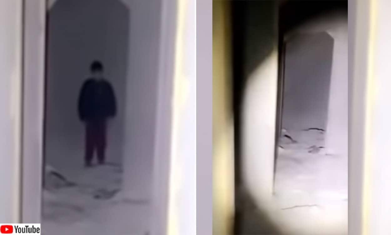 ヨルダンの廃墟に現れた子供の幽霊?