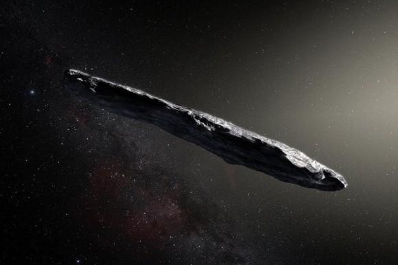 恒星間天体「オウムアウア」が太陽帆(ソーラーセイル)を利用した異星人の宇宙船である可能性が示唆される