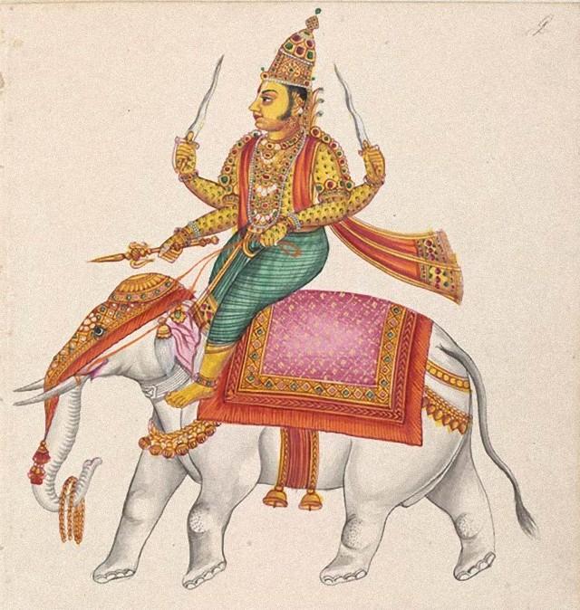 ヒンデゥー教の戦いと嵐の神、インドラ神