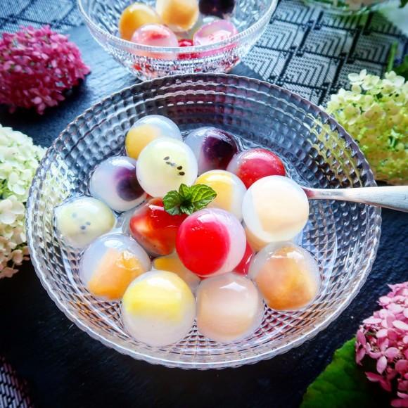 まん丸フルーティー!透明なレモンティーで作る風味深い「九龍球」のレシピ【ネトメシ】