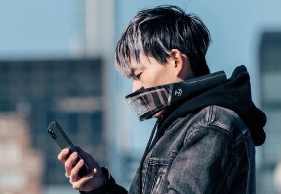 コロナ対策に間に合うか?顔周りの空気を浄化するハイテクマスクが予約販売中。ただし発送は7月予定