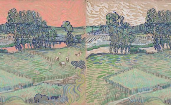 ゴッホが最後に描いたとされる一枚の絵画の真実が明かされる。その背景はやさしいピンク色だった。