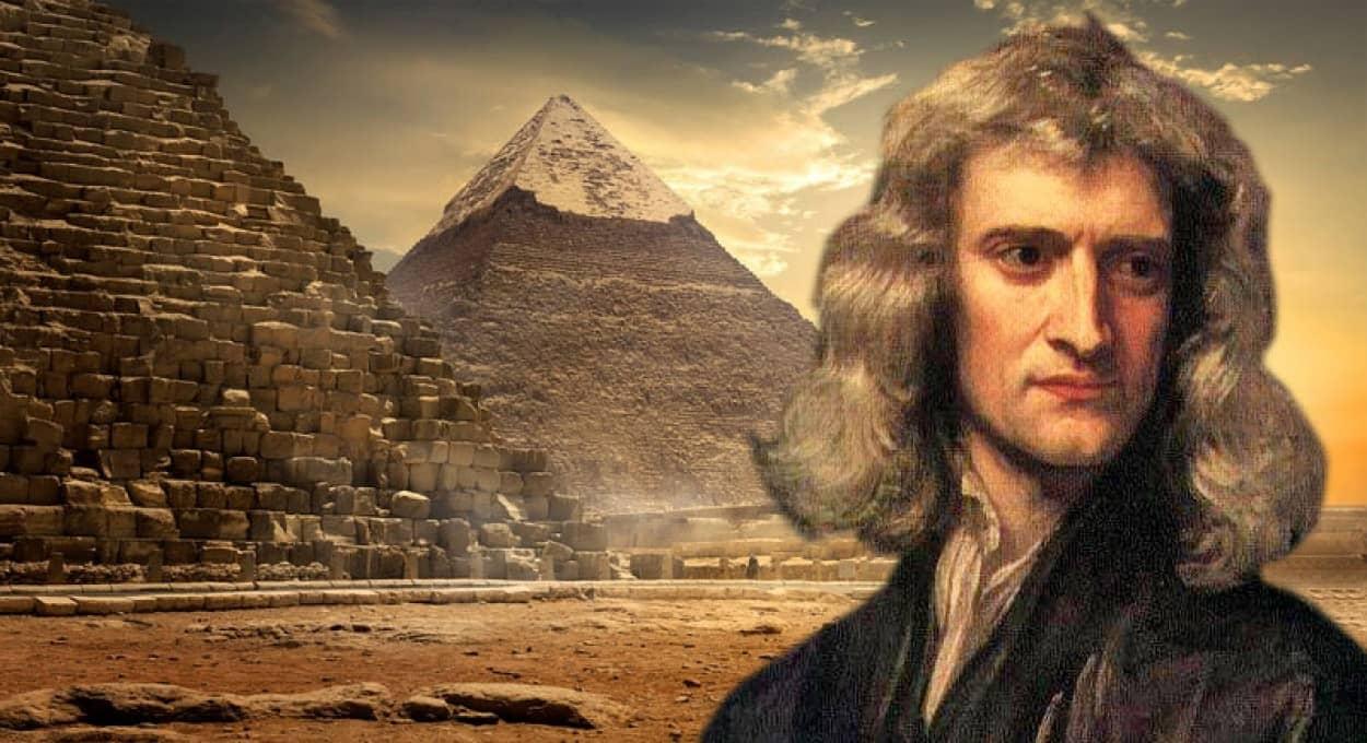 ピラミッドと黙示録に関するニュートンの未公開手記