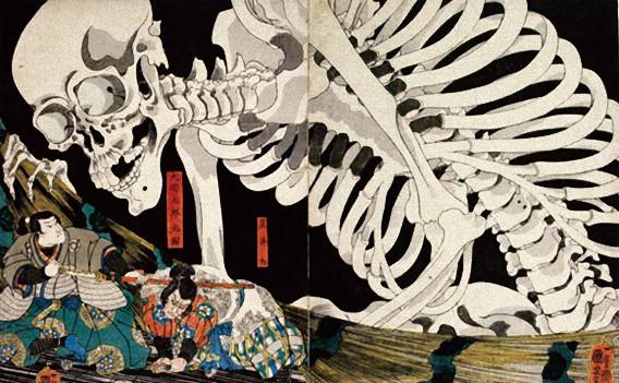 日本の愉快な7種の幽霊を海外のキャラクターに置き換えてみた