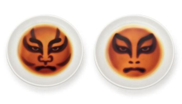 醤油を注ぐと歌舞伎の隈取が浮かび上がる!「歌舞伎醤油」皿が大人気すぎて品切れ状態。再入荷受付中!