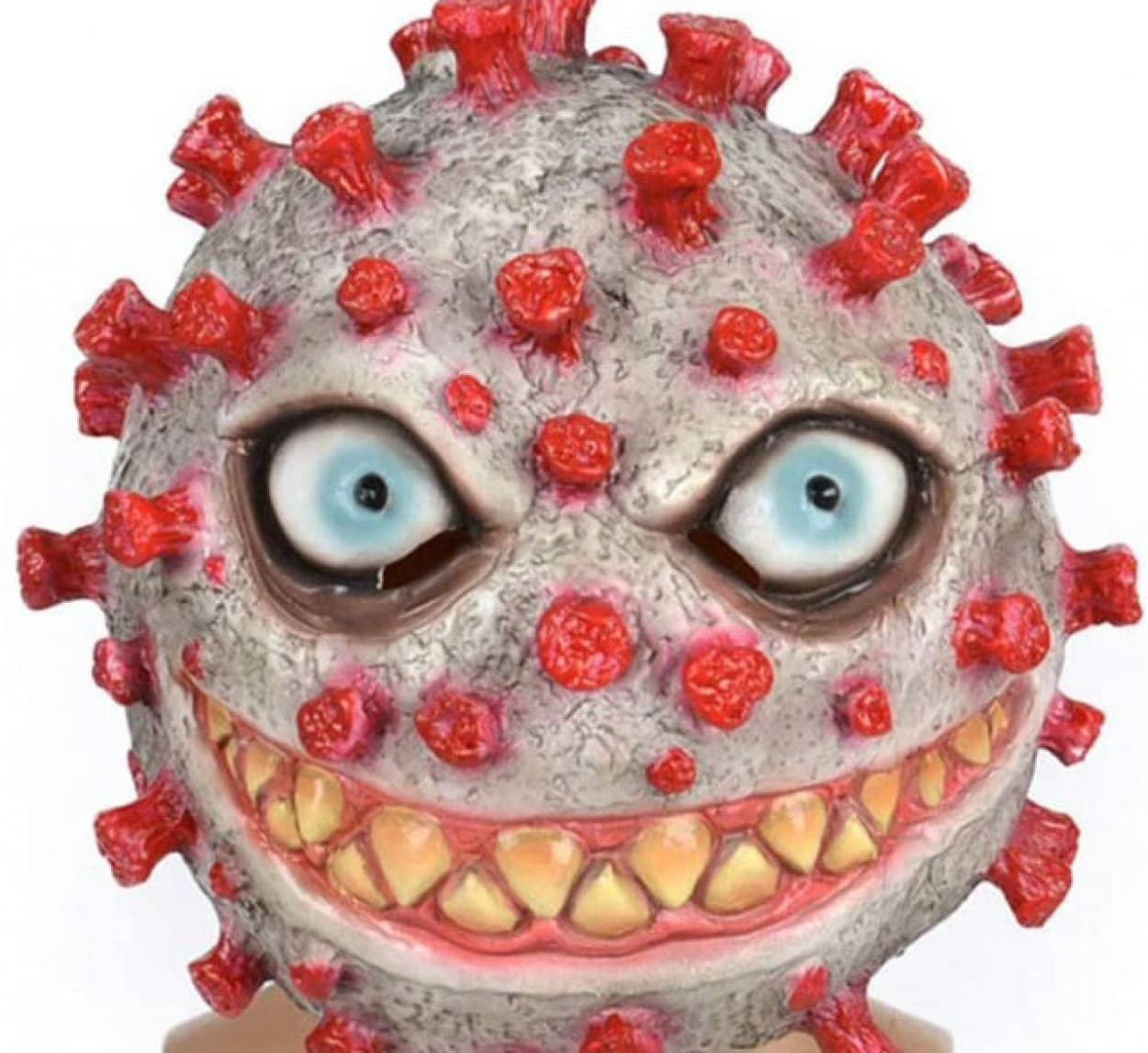 ハロウィン用コロナウイルスマスクが物議