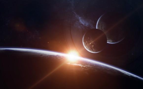 太陽系内の惑星が一直線に並ぶ「惑星直列」のピークは2018年12月21日。アラスカで発生した地震とも関連性があるのか?