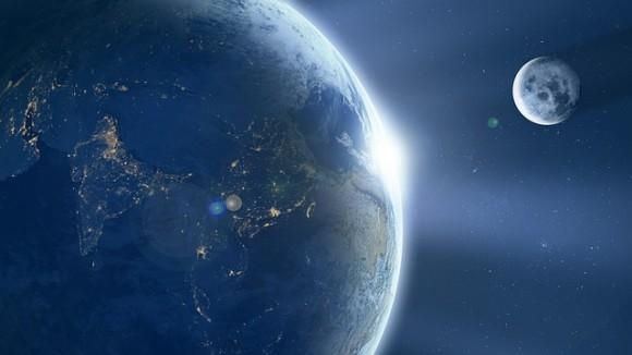 地球の大気は月に届いていた。月を通り越して63万キロの彼方まで(SOHO