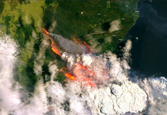 オーストラリアの森林火災が世界の気候パターンに悪影響を及ぼす恐れ