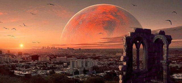 火星で大きな地震が2度観測される