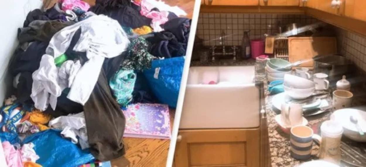 家事を手伝ってくれない夫にブチ切れた妻が家事ストライキ。その結果は?