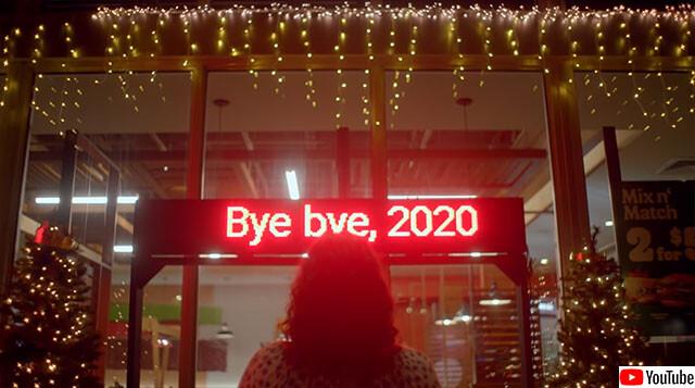 2020年がヤバすぎるので早く終わらせたい。フロリダのバーガーキング店舗が一足先にクリスマス仕様に(アメリカ)