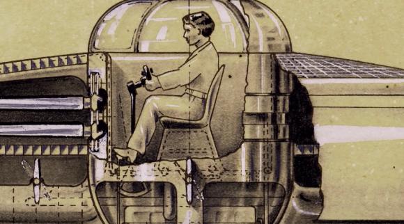 1940年代、後に空飛ぶ円盤と呼ばれる垂直離着陸機の特許を取得した知られざる天才「アレクサンダー・ウェイガース」