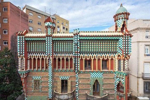 「サグラダ・ファミリア」で知られるあのガウディが最初に設計した「カサ・ビセンス」がもうすぐ公開予定
