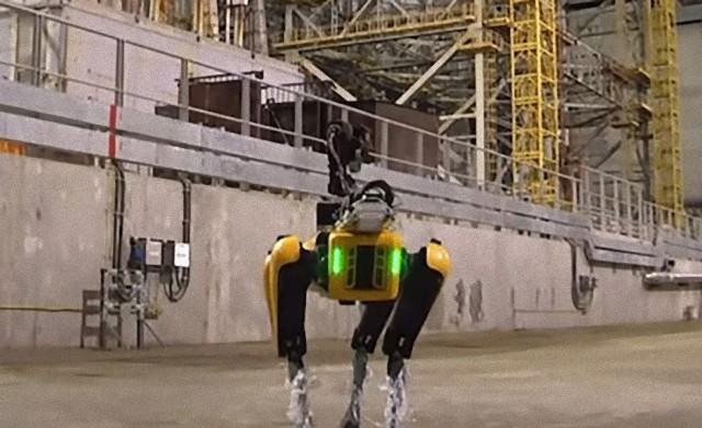 四足歩行犬型ロボット「スポット」がチェルノブイリで運用テスト開始