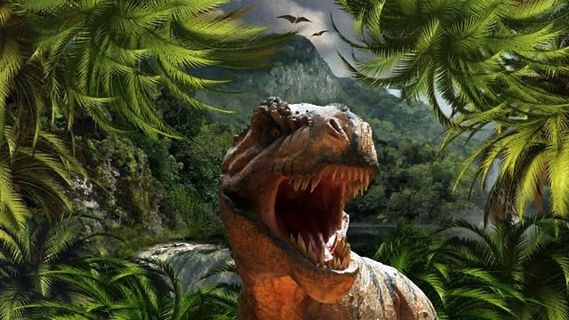 ティラノサウルスは大量に生息していた。その数なんと25億