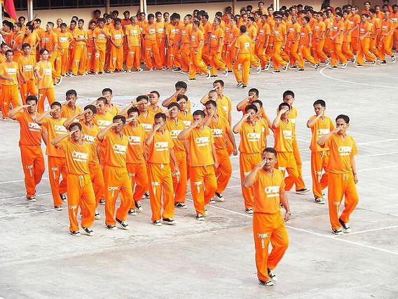 Philippine Prison Prisoners Dance Dancing 20
